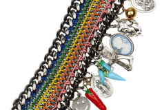 Haute bauble: Venessa Arizaga Baja Charm Necklace and Bracelet