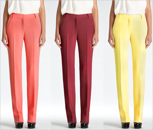 Rachel-Roy-Crepe-Colored-Trouser-yellow-rhubarb-mulberry