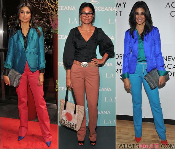 Rachel-Roy-wearing-colored-pants-trousers