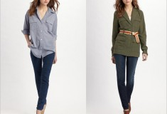 Shop Elizabeth and James apparel, Genetic denim, Martha Davis shoes and more at today's online sample & flash sales!