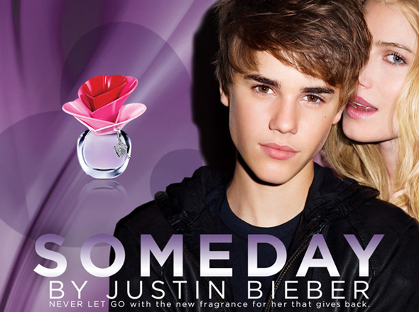 Someday-fragrance-by-Justin-Beiber ad