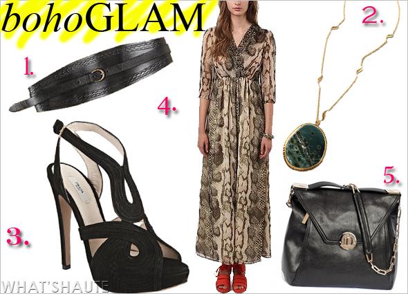 boho-glam style