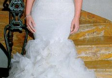 Haute fashion + beauty link roundup: Kim Kardashian's 3 wedding dresses; Manolo Blahnik collabs with Mimi Plange; Selena Gomez's new fragrance; Rihanna gets glam in Italy