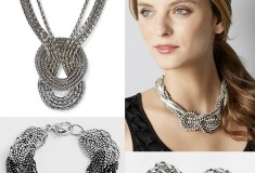 Knotted chain jewelry trends, Complete Skin Care, how to wear leather pencil skirts and more on Weekly Shopping and Goodies