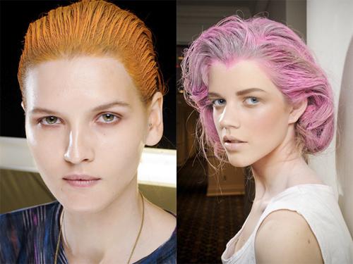 Rainbow Colored-Hair-Spring-2012-Fashion-Week