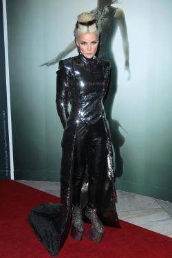 Daphne Guinness in her Hogan McLaughlin gown