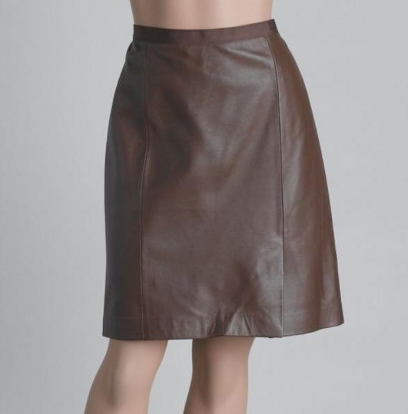 Kmart-Jaclyn-Smith-Women's-Leather-Skirt
