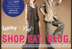 What's Haute at the Lucky + Lord & Taylor 'Shop. Eat. Blog.' event