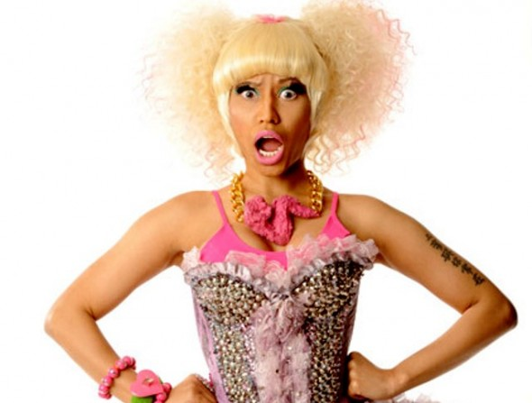 Nicki Minaj rocks Onch Movement Fried Chicken Necklace what's haute