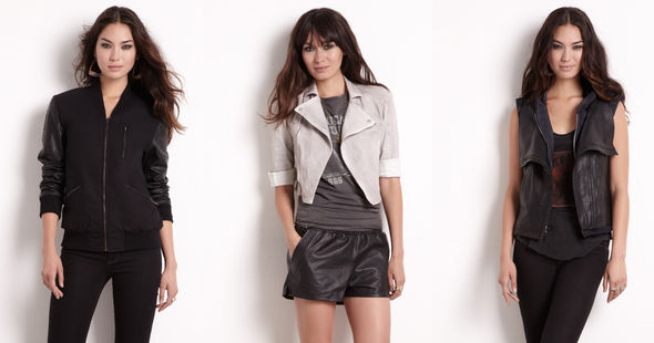 Rachel-Rachel-Roy---LTD.-Edition-Amar'e-+-Rachel-letterman-jacket-Denim-Motorcycle-Jacket-Leather-Hooded-Vest