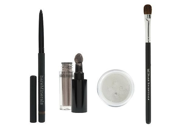 bareMinerals Smoky Metallic Eye Sizzling 4-pc Collection