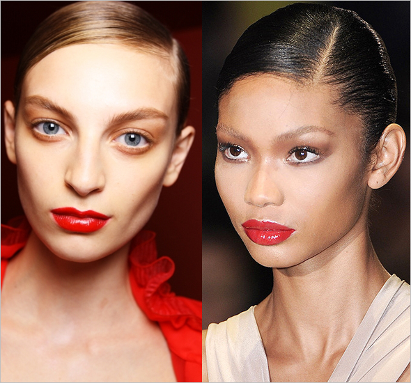 Fall 2011 beauty trend bright lips