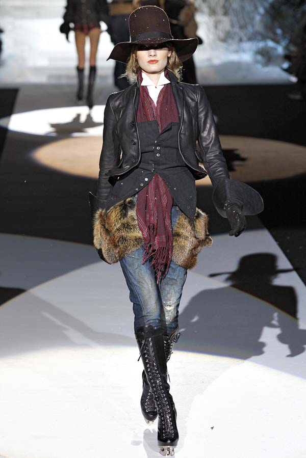 dsquared fall 2011 skate moss boot 4