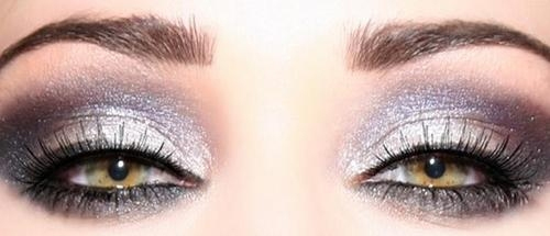 metallic smoky eyes fall beauty trends 2011