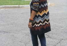 My Style: Lucky Zigzags (Missoni for Target cardigan + Seven7 jeans + Ore 10 bag)