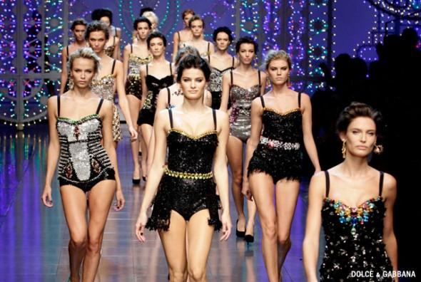 runway beauty_dolce_gabbana_spring2012