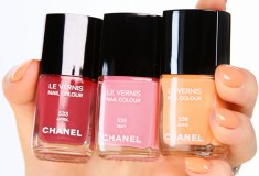 Coming this January - Chanel 'April', 'May' and 'June' Les Vernis nail polish colours