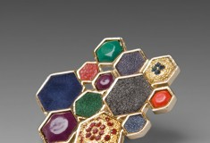Haute buy: House of Harlow by Nicole Richie Mixed Media Large Cluster Ring
