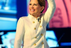 Style inspiration? Get the look: Michele Bachmann's white military jacket