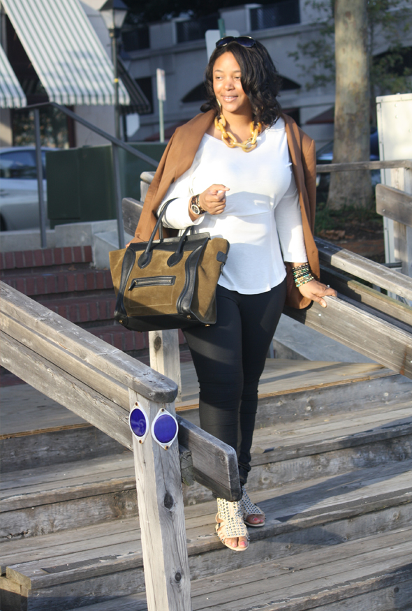 My-style-Baltimore-Celine-Luggage-Tote-Zara-blazer-BB-Dakota-top-DvF-leggings-Kelsi-Dagger-sandals-9