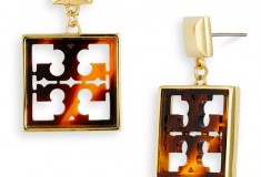 Tory Burch Small Logo Drop Earrings - Day 12 of What's Haute's '20 Days of Holiday Gifts'