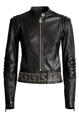 VERSACE X H&M. Jacket. VERSACE FOR H&M seeks to show off your figure by putting together stylish accessories to give a dash of elegance to your look. Don't resist the latest trendy product by VERSACE FOR H&M. Their original and elegant collection will definitely please you.