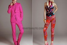 The complete Versace for H&M women's and men's lookbook has arrived! [IMAGES]