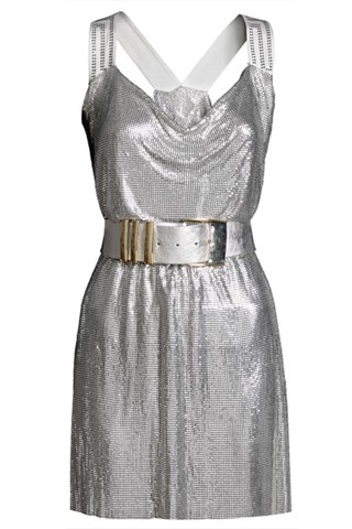 Versace for H&M - metallic dress