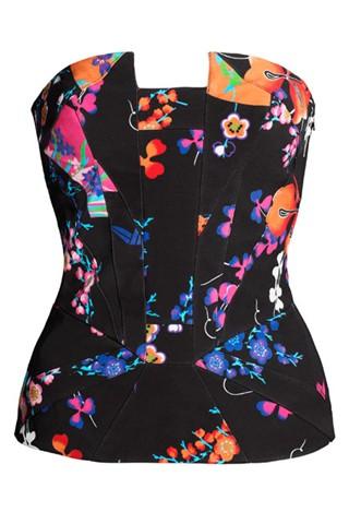 Versace for H&M - silk bustier