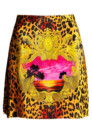 Versace for H&M - silk skirt