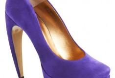 Shoe of the moment: Walter Steiger Curved Heel Pumps