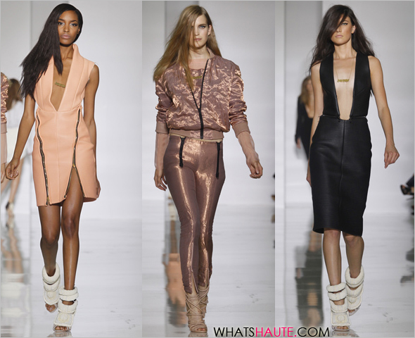 kanye west spring Summer 2012 runway show Dw by Kanye West ready to wear paris fashion week at Lycee Henri IV jourdan dunn what's haute