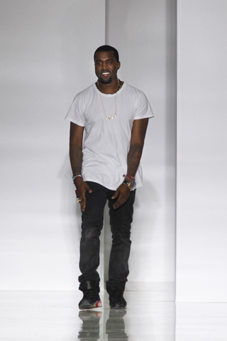 kanye west spring 2012 runway show KW by Kanye West ready to wear paris fashion week what's haute