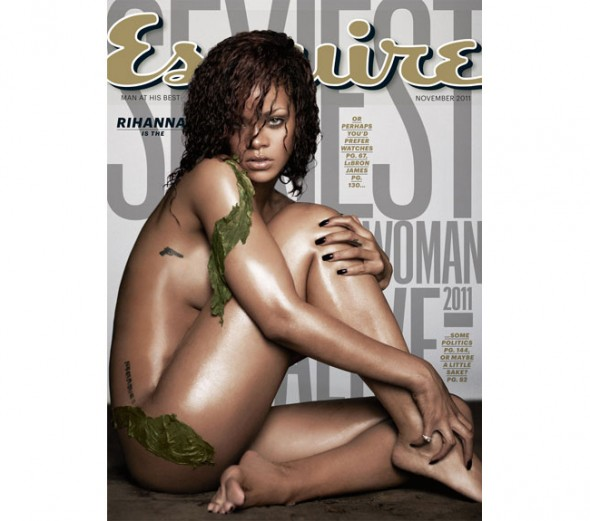rihanna named esquire magazine sexiest woman alive 2011 cover what's haute
