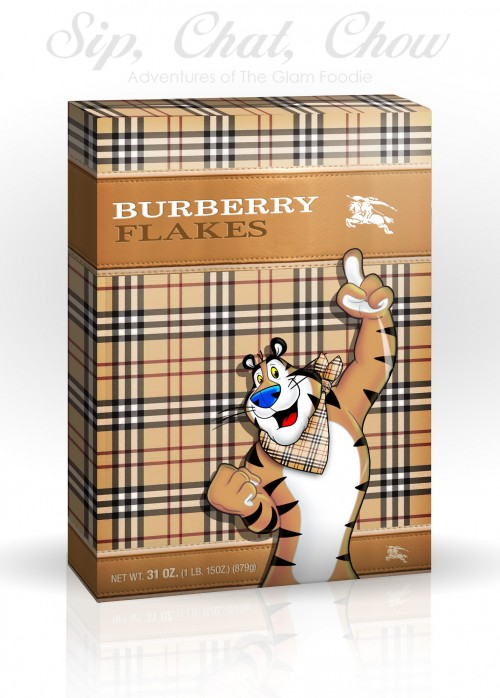 Cereal Couture Burberry Flakes