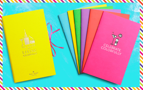 Kate Spade Guide to Living Colorfully Book Set