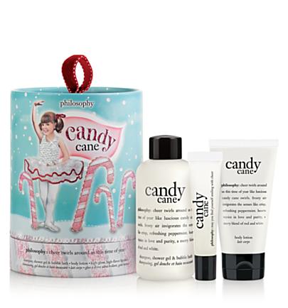 Philosophy Candy Cane Lane Bath Set