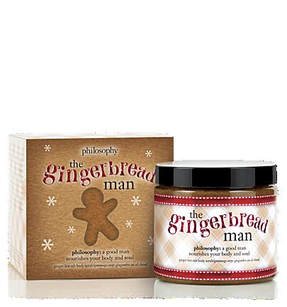 Philosophy The Gingerbread Man Salt Scrub