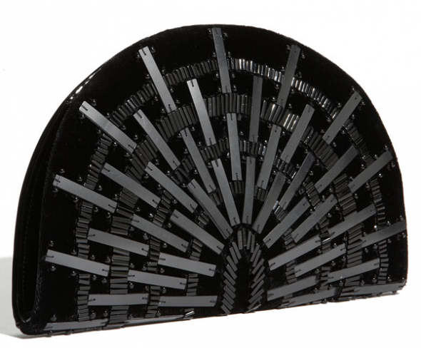 French Connection 'Mirror Mirror' Clutch