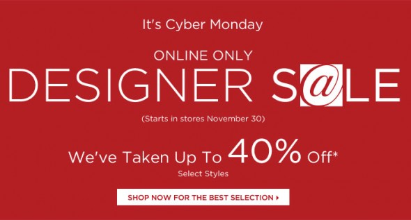 cyber monday sales at saks