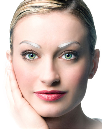 neuveauBrow active eyebrow technology