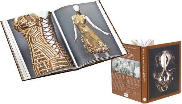 Alexander McQueen Savage Beauty book inside