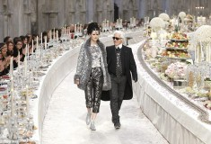 Haute fashion + beauty news roundup: Chanel's Metiers d'Arts runway show looks like an Indian dinner party; Fujifilm to launch skincare line in Europe; see images of H&M's full 'Girl with the Dragon Tattoo' collection + more