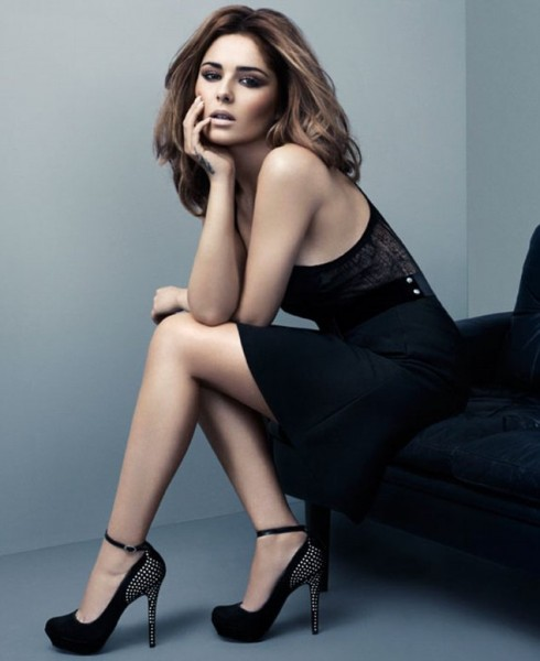 Cheryl Cole debuts an eight piece collection of 'killer shoes that don't kill your feet' for Stylistpick Your Royal Hotness heels