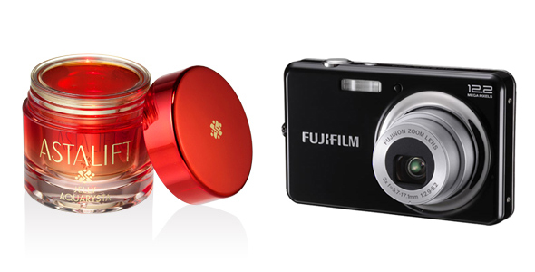 Film-and-digital-camera-maker-Fujifilm,-who-has-already-launched-the-Astalift-anti-aging-skin-care-line-in-Japan,-having,-plans-to-launch-skincare-in-Europe-as-wel