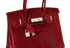 Haute fashion news roundup: Hermès Crocodile & Diamond Birkin Bag sells for over $200K; Gucci's bike goes for $14K; Mario Lopez launches RatedM underwear collection; Oscar de la Renta launches children's wear