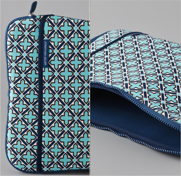 Jonathan Adler Moroccan Grill Laptop Sleeve