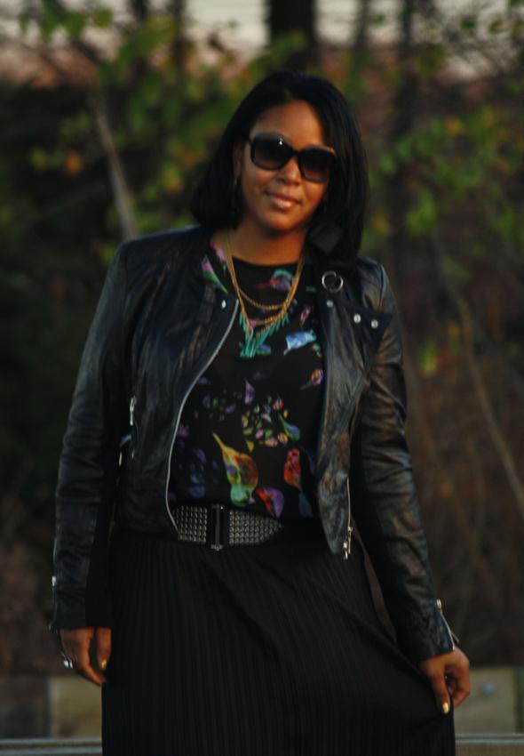 My Style Zara bird top Missoni Target skirt Zara crystal platforms jewelry 1