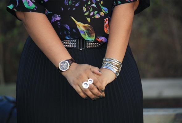 My Style Zara bird top Missoni Target skirt Zara crystal platforms jewelry 10