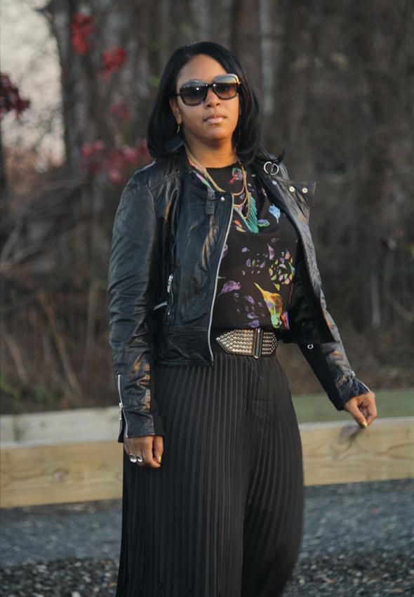 My Style Zara bird top Missoni Target skirt Zara crystal platforms jewelry 2